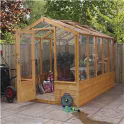 INSTALLED 6ft x 10ft (1.9m x  3m) Premier Styrene Glazed Tongue and Groove Greenhouse (No Floor) INCLUDES INSTALLATION