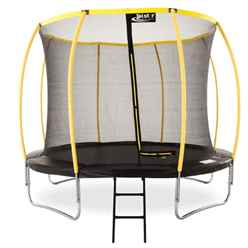 INSTALLED 8ft ORBIT Trampoline with Enclosure Package + FREE Ladder
