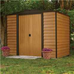 8ft x 6ft Woodvale Metal Sheds (2530mm x 1810mm) INCLUDES FLOOR