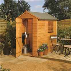 INSTALLED 6ft x 4ft Rowlinson Modular Tongue & Groove Shed (OSB Floor & Roof) INCLUDES INSTALLATION