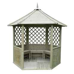 9ft x 8ft Rosemary Gazebo - Assembled