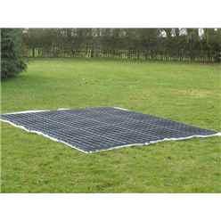 Installed Plastic Ecobase 12ft x 6ft (32 Grids)