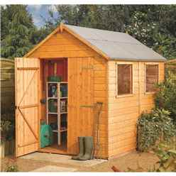 10ft x 6ft Rowlinson Premier Tongue & Groove Shed (12mm T&G Floor)