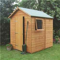 7ft x 5ft Rowlinson Premier Tongue & Groove Shed (12mm T&G Floor)