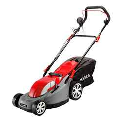 Cobra 34cm Electric Rear Roller Lawnmower - Cobra GTRM34 - Free 24HR Delivery