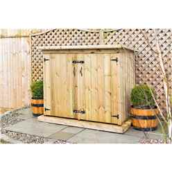 Redwood Pressure Treated Double Garden Store - Free Delivery*