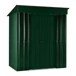 5ft x 3ft Premier EasyFix Heritage Green Pent Shed (1.58m x 0.92m)