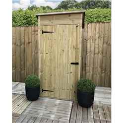 3ft x 2ft Windowless Pressure Treated Tongue & Groove Pent Garden Store