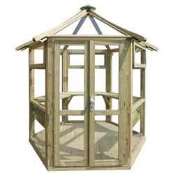 9 x 8 Summer Glass House - Assembled