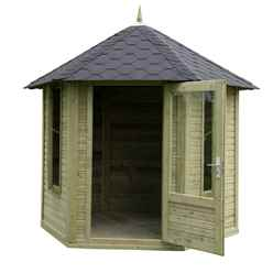 11ft x 9ft Daffodil Summerhouse - Assembled