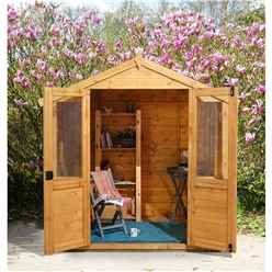 7x5 WaterLily Summerhouse - Assembled