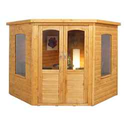 7ft x 7ft Ivy Corner Summerhouse - Assembled
