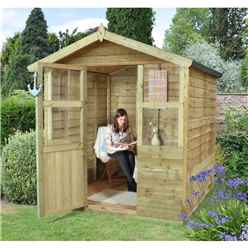 6x6 Petal Summerhouse - Assembled