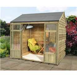 8x5 Buttercup Summerhouse