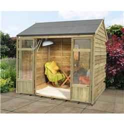 8x5 Buttercup Summerhouse - Assembled