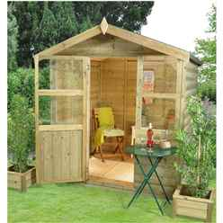 6x6 Cedar Summerhouse