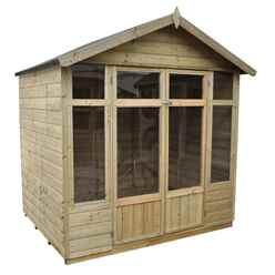 7x5 Carnation Summerhouse - Assembled