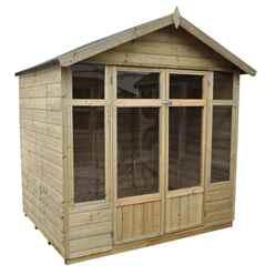 7 x 5 Carnation Summerhouse - Assembled