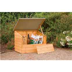 4ft x 3ft Wooden Storage Container - Assembled