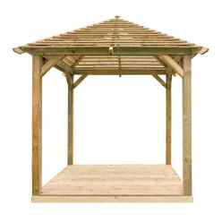 10ft x 10ft Venetian Pavilion + Decking