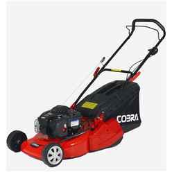 Cobra RM46B (B&S) Petrol Powered 46cm Rear Roller Hand Propelled Lawnmower - Free Oil and Free Next Day Delivery*
