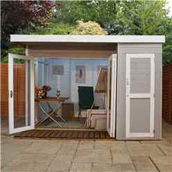 INSTALLED 10ft x 8ft Contempory Gardenroom Large Combi (12mm T&G Floor & Roof) - INCLUDES INSTALLATION