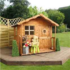INSTALLED Tulip Playhouse 5ft x 5ft - INCLUDES INSTALLATION