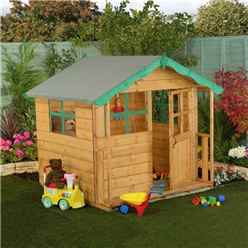 INSTALLED Poppy Playhouse 5ft x 5ft - INCLUDES INSTALLATION