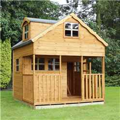 INSTALLED Dorma Playhouse - Double Storey - 7ft x 7ft - INCLUDES INSTALLATION