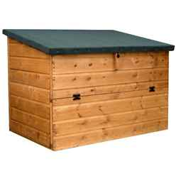 INSTALLED 4ft x 3ft Tongue & Groove Store Chest INCLUDES INSTALLATION