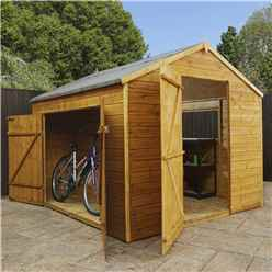 INSTALLED 8ft x 8ft Multi Storage Shed - INCLUDES INSTALLATION
