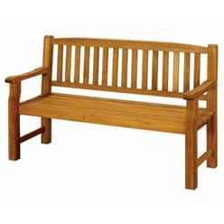 3 Seater Turnbury Garden Bench - Free Next Working Day Delivery (Mon-Fri)