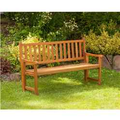 St Andrews 2 Seater Folding Bench - Zero Assembly Bench - Free Next Working Day Delivery (Mon-Fri)