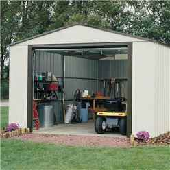 INSTALLED 12ft x 10ft Murryhill Metal Garage (3710m x 2970mm) - INCLUDES INSTALLATION