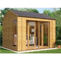 8ft x 10ft Cannes Tongue and Groove Summerhouse