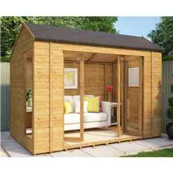 6ft x 10ft Monte Carlo Tongue and Groove Summerhouse
