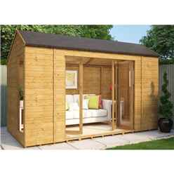 6ft x 12ft Monte Carlo Tongue and Groove Summerhouse
