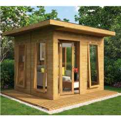 10ft x 10ft Lounge Contemporary Summerhouse