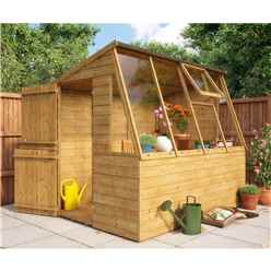 8ft x 6ft Potting Shed With Stable Door