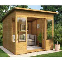 8ft x 8ft Verano Tongue and Groove Summerhouse
