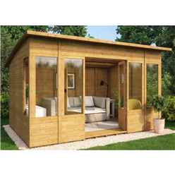8ft x 12ft Verano Tongue and Groove Summerhouse