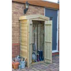 Pressure Treated Tongue and Groove Apex Tall Garden Store (183 x 110 x 51 cm)