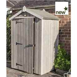INSTALLED Deluxe 4ft x 3ft Heritage Shed INCLUDES INSTALLATION