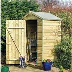 INSTALLED Deluxe 4ft x 3ft Oxford Shed INCLUDES INSTALLATION