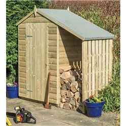 INSTALLED 4ft x 3ft Oxford Shed with Lean To INCLUDES INSTALLATION
