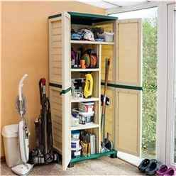 INSTALLED  Deluxe Plastic Utility Store INCLUDES INSTALLATION