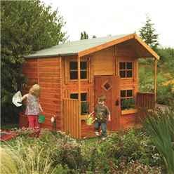 INSTALLED 8ft x 8ft Hideaway House Rowlinson Playhouse (2.48m x 2.48m) INCLUDES INSTALLATION