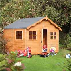 INSTALLED Playaway Lodge Rowlinson Playhouse 8ft x 7ft (2.47m x 2.08m) INCLUDES INSTALLATION