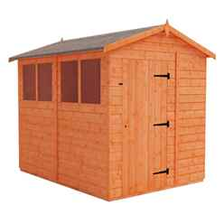 8ft x 6ft Tongue and Groove Shed (12mm Tongue and Groove Floor and Apex Roof)
