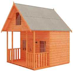 8ft x 8ft Club Playhouse (12mm Tongue and Groove Floor and Roof)
